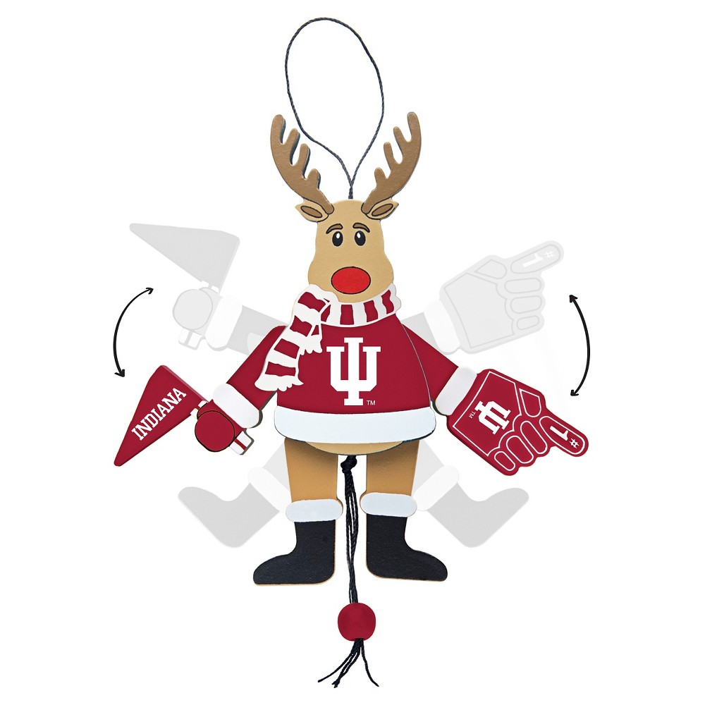 NCAA Indiana Hoosiers TopperscotTree Ornament
