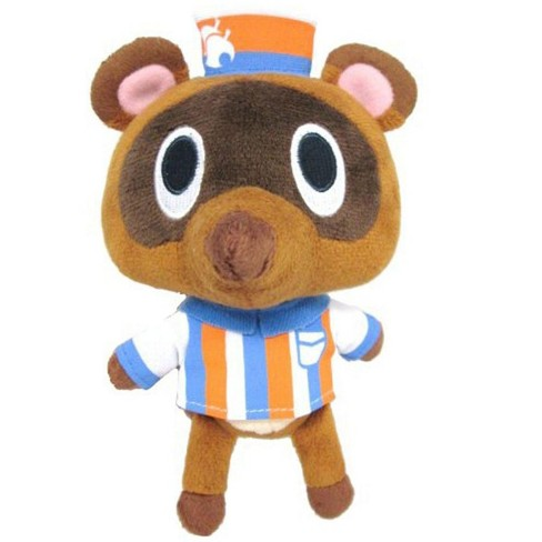 Animal Crossing 5 Plush Timmy Store Clerk With Hat Target