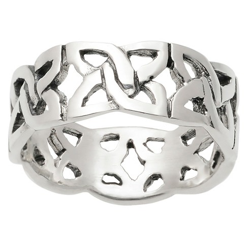 Women's Journee Collection Celtic Band in Sterling Silver - Silver - image 1 of 2