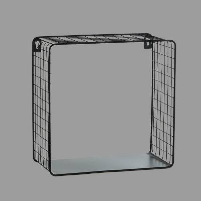 Metal Mesh Cube Black - Room Essentials™