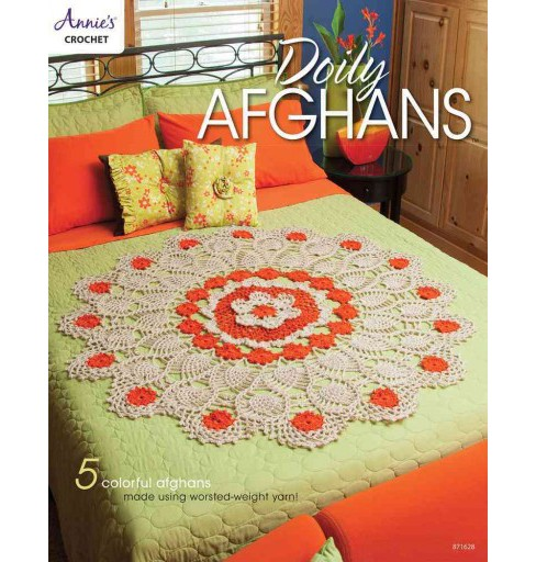 Doily Afghans (Paperback) - image 1 of 1