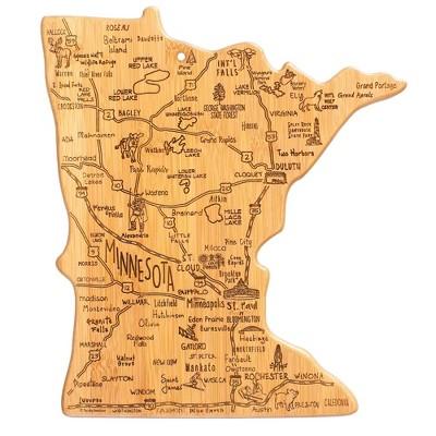 Totally Bamboo Destination Minnesota Cutting Board