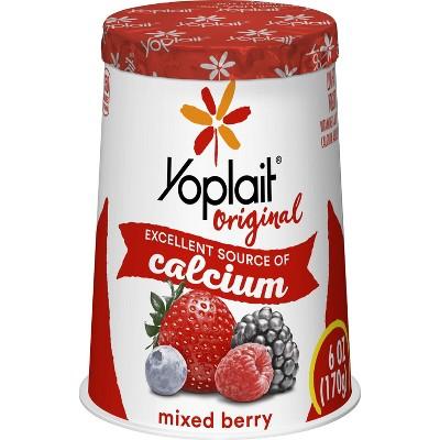 Yoplait Original Mixed Berry Yogurt - 6oz