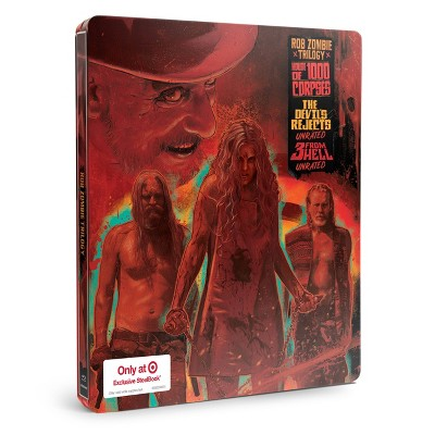 Rob Zombie Triple Feature STC (Target Exclusive) (Blu-ray + Digital)