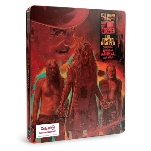 Rob Zombie Triple Feature STC (Target Exclusive) (Blu-ray + Digital) - image 1 of 2