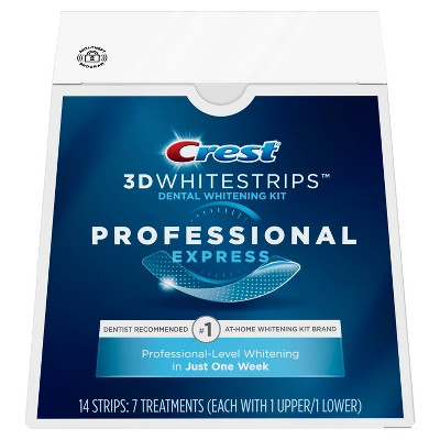 graphic about Crest White Strips Printable Coupon called Crest 3D Whitestrips Experienced Convey Tooth Whitening