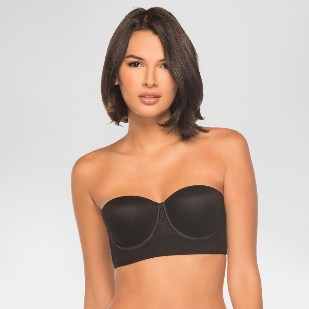 Image of Annette Women's Control Bra with Extra Side Support - Black 34B