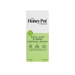 The Honey Pot Herbal 7 Day Suppositories - 14ct