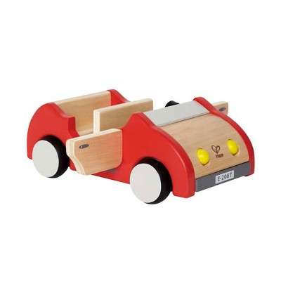 Hape E3475 Wooden Dollhouse Family Play Toy Car, Collectible Push Vehicle Doll Accessory for Toddlers 3 Years & Above