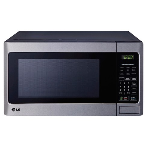 LG 1.1 Cu. Ft. 1000 Watt Microwave Oven - Stainless Steel LCS1112ST - image 1 of 4