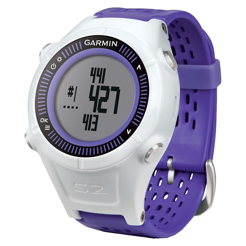 Garmin Gps Golf Watch - Purple (APPROACHS2PURPLE), Purple/White