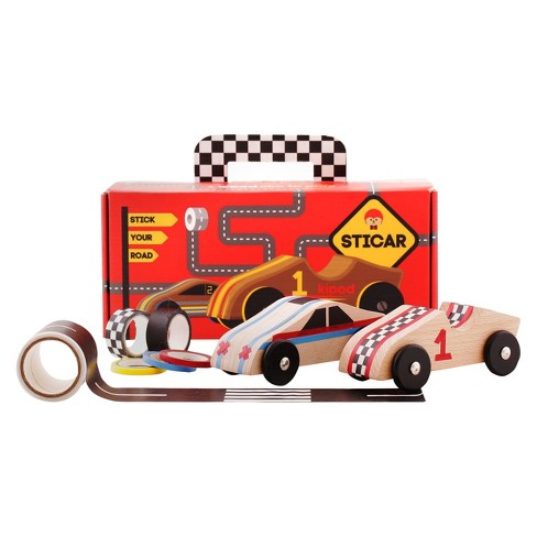 Kipod Sticar Create Your Own Wooden Race Car Kit - image 1 of 7