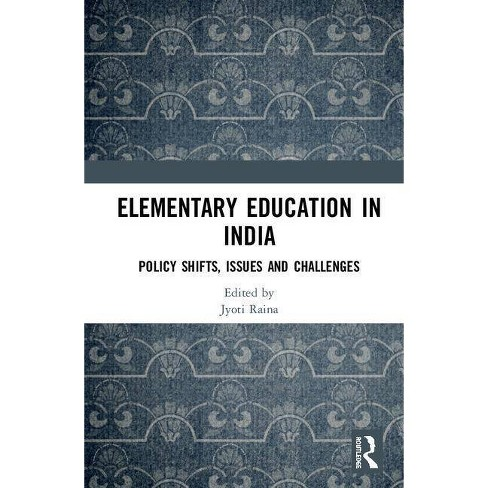 Elementary Education in India - (Hardcover) - image 1 of 1