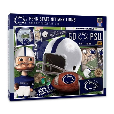 NCAA Penn State Nittany Lions Throwback Puzzle 500pc