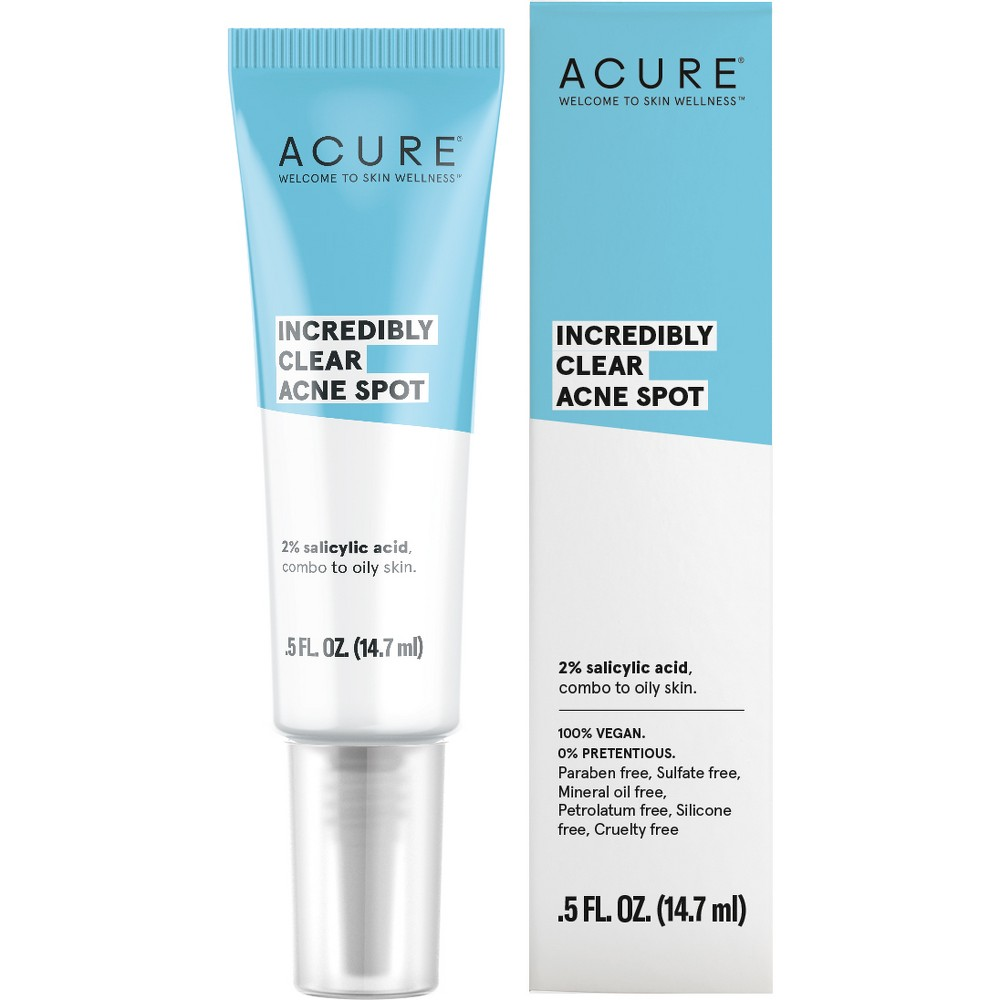 Acure Incredibly Clear Acne Spot - 0.5 fl oz