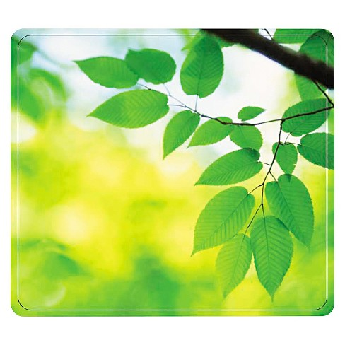 Fellowes® Recycled Mouse Pad - Leaves - image 1 of 1