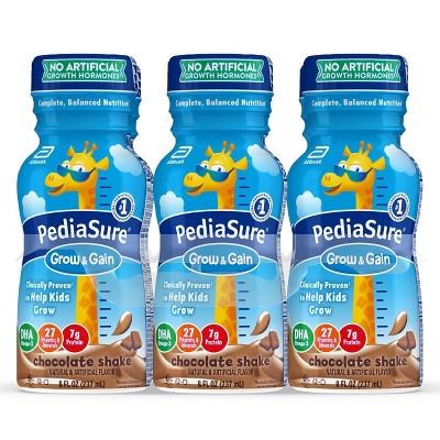 PediaSure Grow & Gain Kids' Nutritional Shake Chocolate - 6 ct/48 fl oz