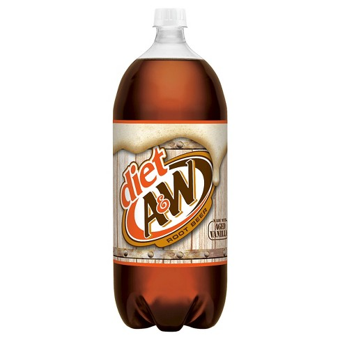 Diet A&W Root Beer - 2 L Bottle - image 1 of 1
