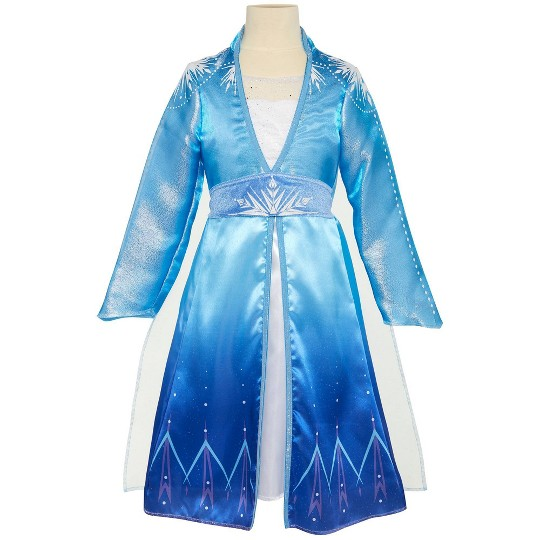 Disney Frozen 2 Elsa Travel Dress, Size: Small, MultiColored image number null