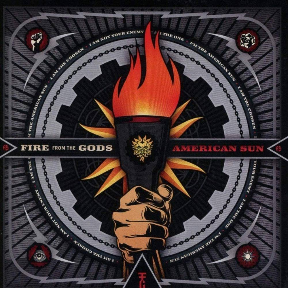 Fire From The Gods American Sun Cd