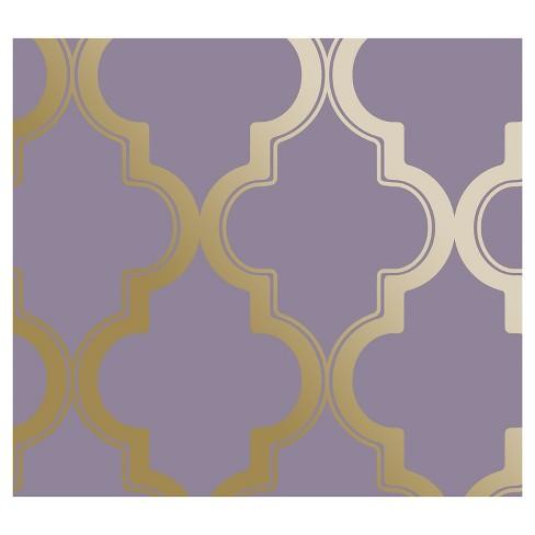 NEW Devine Color Cable Stitch Peel /& Stick Wallpaper White