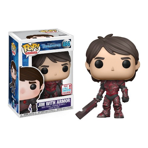 Funko POP! TV: Trollhunters-Jim (Armored) - image 1 of 1