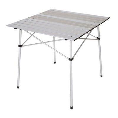 "Stansport Aluminum Folding Slat Table 27"" x 27"""