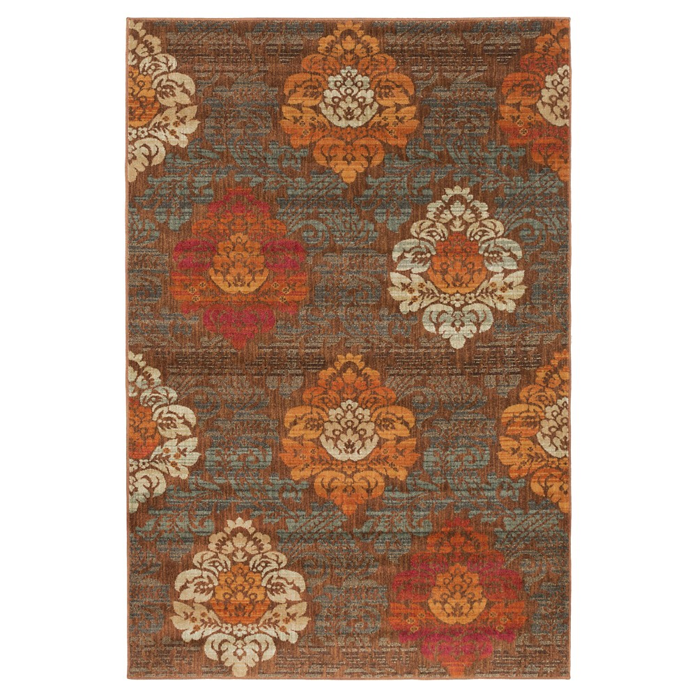 Camel Solid Tufted Area Rug - (6'7