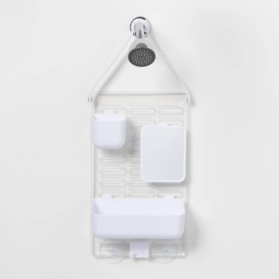 Adjustable Shower Caddy White - Room Essentials™