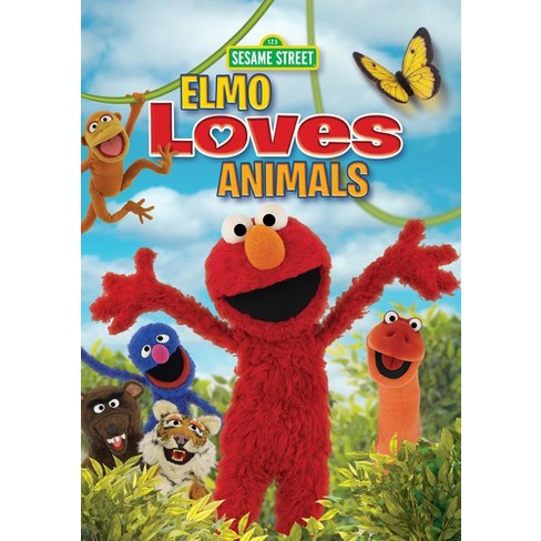 Sesame street:Elmo loves animals (DVD) - image 1 of 1