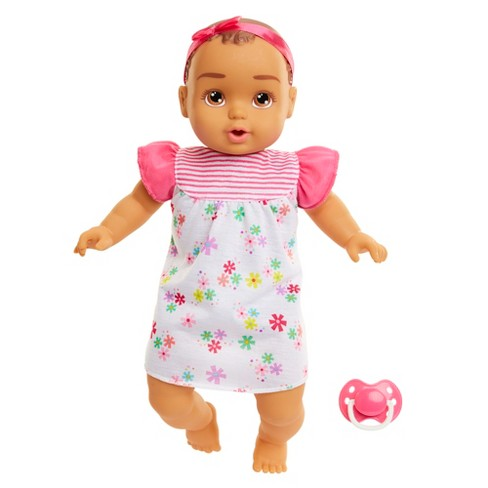 "Honestly Cute My Sweet Basic Baby Doll 14"" - Latina Girl with Brown Eyes - image 1 of 8"