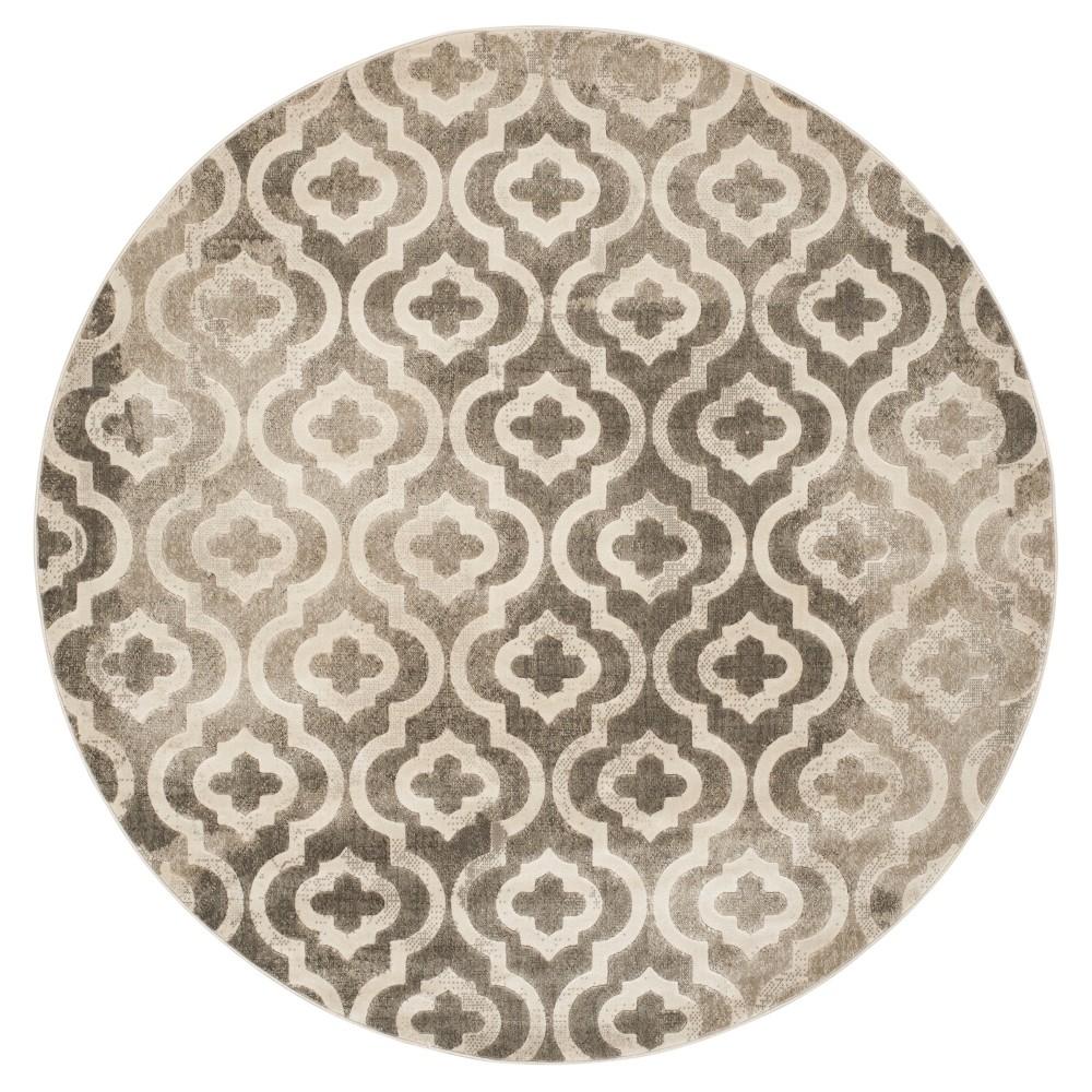 Milo Area Rug - Gray / Ivory ( 6' 7