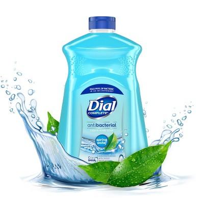 Dial Complete Antibacterial Liquid Hand Soap Refill - Spring Water - 52 fl oz