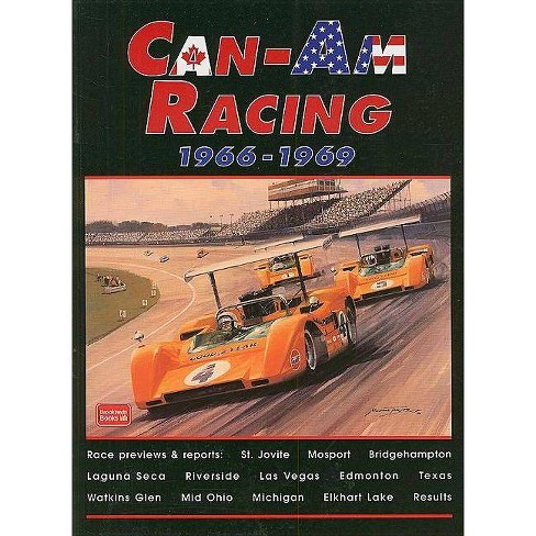 Can-Am Racing - (Brooklands Road Test Books) by  R M Clarke (Paperback) - image 1 of 1