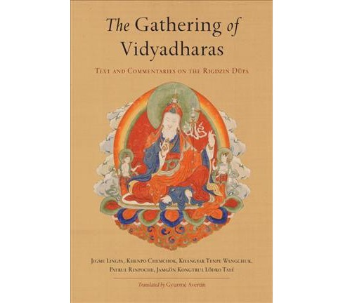 Gathering of Vidyadharas : Text and Commentaries on the Rigdzin Dupa (Paperback) (Jigme Lingpa & Patrul - image 1 of 1