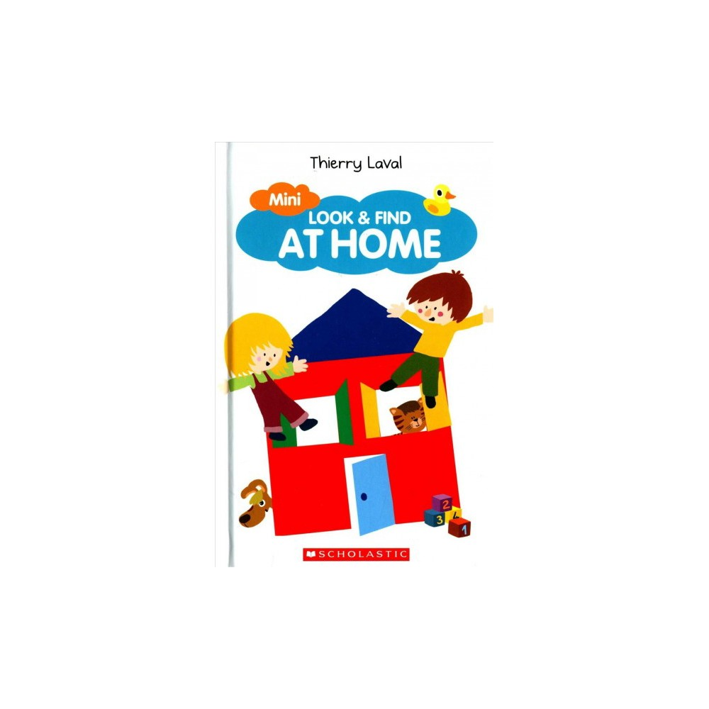 Mini Look & Find at Home (Hardcover) (Thierry Laval)