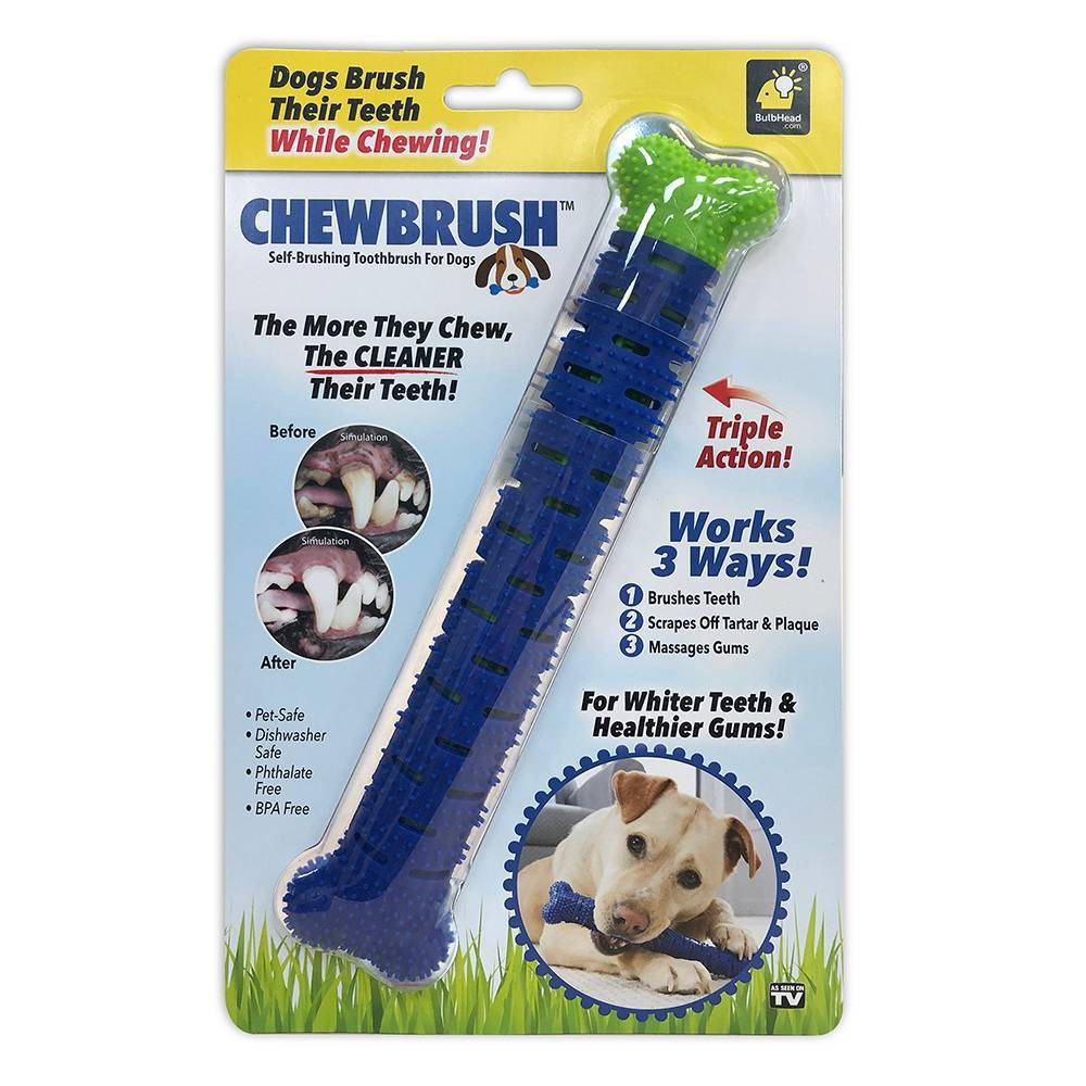Image of As Seen on TV Chew Brush, Pet toy