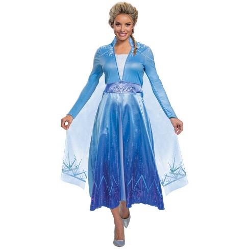Adult Disney Frozen 2 Elsa Deluxe Halloween Costume S - image 1 of 3