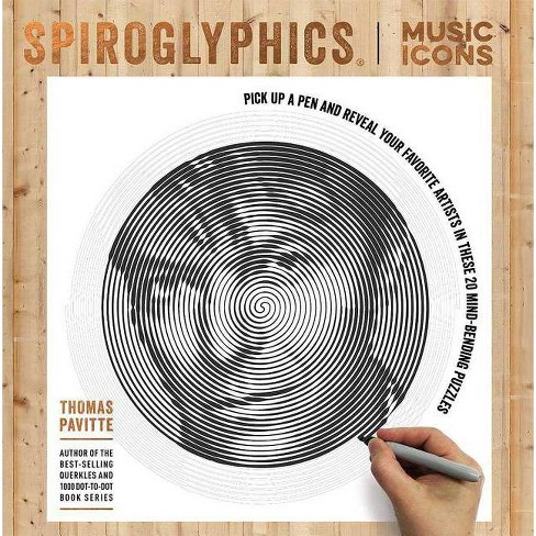 Spiroglyphics: Music Icons - by  Thomas Pavitte (Paperback) - image 1 of 1