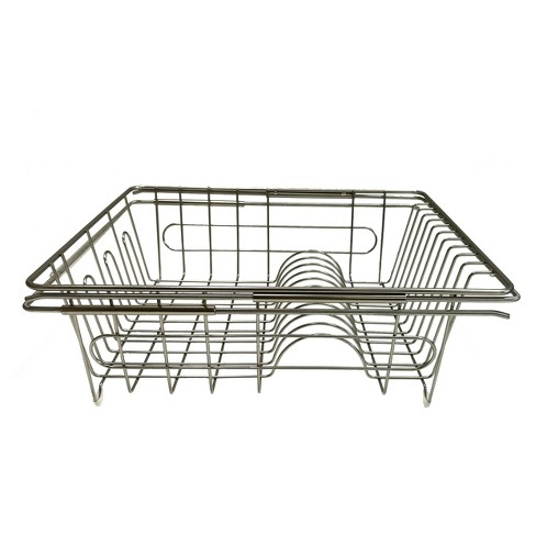 Kitchen Storage Racks, Holders and Dispensers Brushed Nickel - Room Essentials™ - image 1 of 1