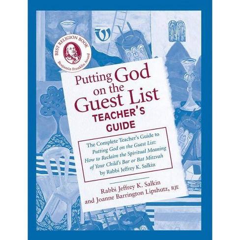 Putting God on the Guest List Teacher's Guide - by  Joanne Barrington Lipshutz & Jeffrey K Salkin - image 1 of 1