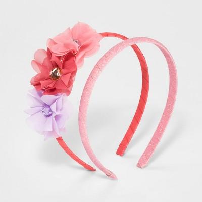 Girls' 2pk Headbands - Cat & Jack™