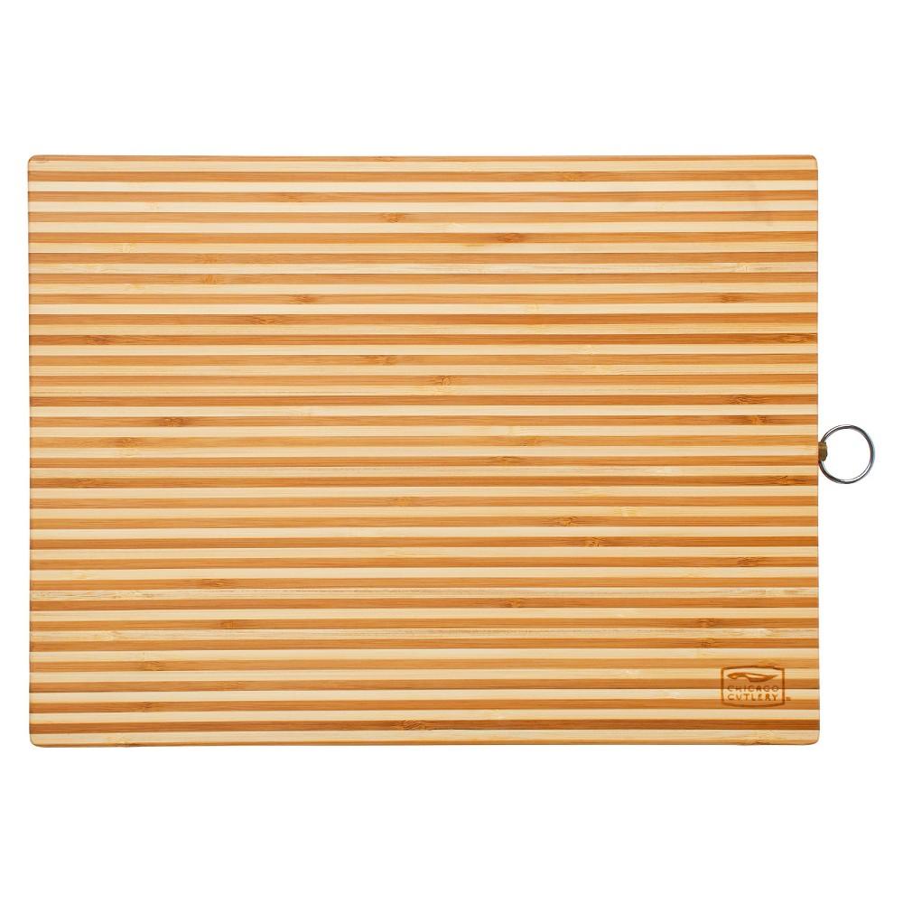 Chicago Cutlery Bamboo 16 x 12 Inch Cutting Board