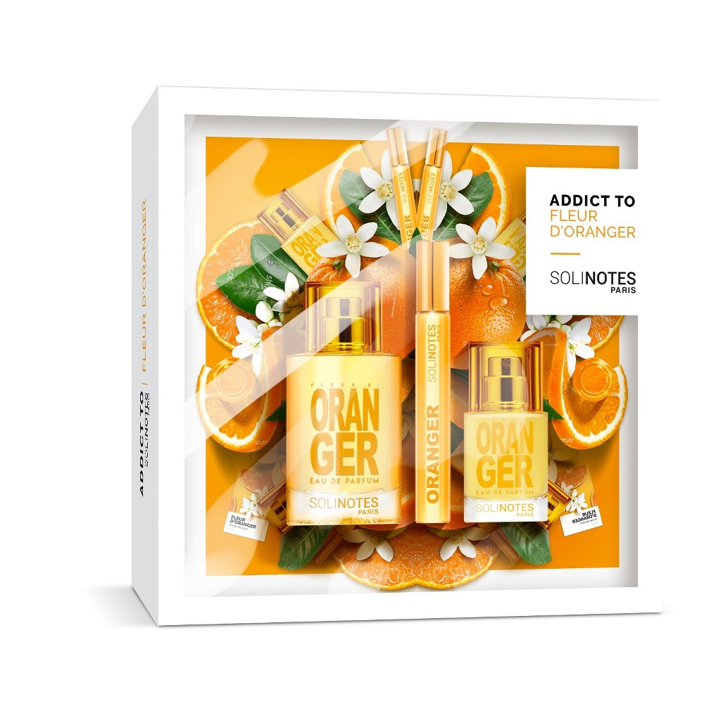 Image of Solinotes Holiday Gift Set – Orange Blossom Eau De Parfume - 2.53 fl oz