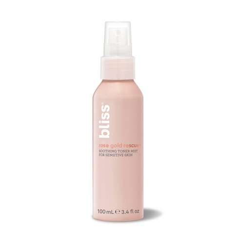 Bliss Rose Gold Rescue Soothing Toner Mist - 3.4 fl oz - image 1 of 1