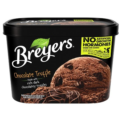 Breyers Chocolate Truffle Ice Cream - 48oz