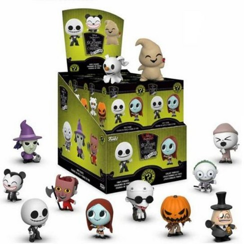 Nightmare Before Christmas Mystery Box 2020 Fan Expo Funko Nightmare Before Christmas Mystery Minis NBX 25th