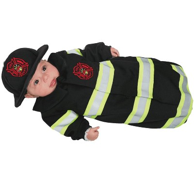 Underwraps Fireman Baby Bunting Costume