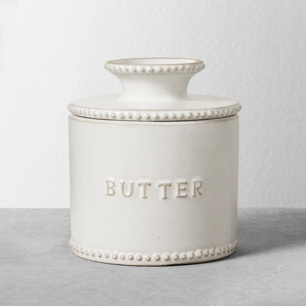 Butter Server - White - Hearth & Hand with Magnolia, Ivory