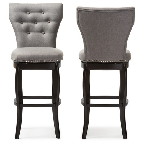 29 Leonice Modern And Contemporary Fabric Upholstered Button Tufted